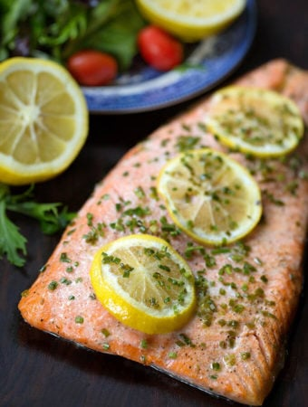 Baked Steelhead Trout