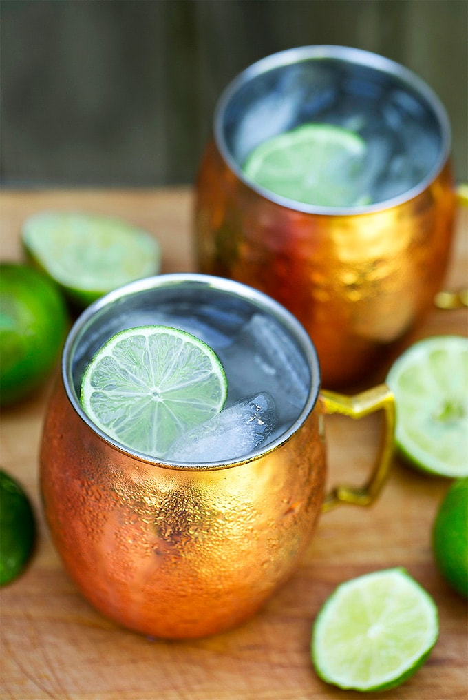 Moscow Mule Cocktail Simply Happy Foodie