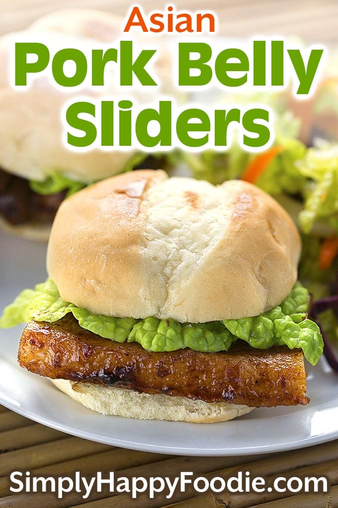 Asian Pork Belly Sliders