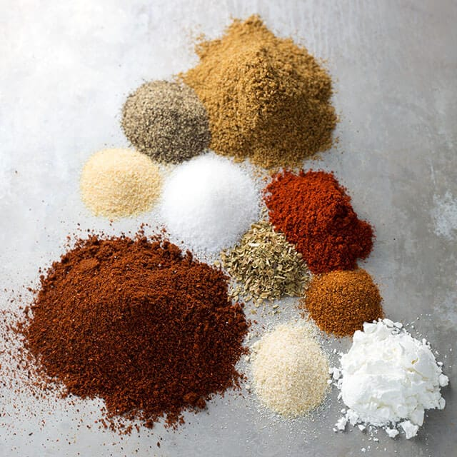 Easy Taco Seasoning uses spices you already have. Tastes like the packet and no preservatives! simplyhappyfoodie.com
