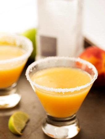 Fancy Peach Margarita