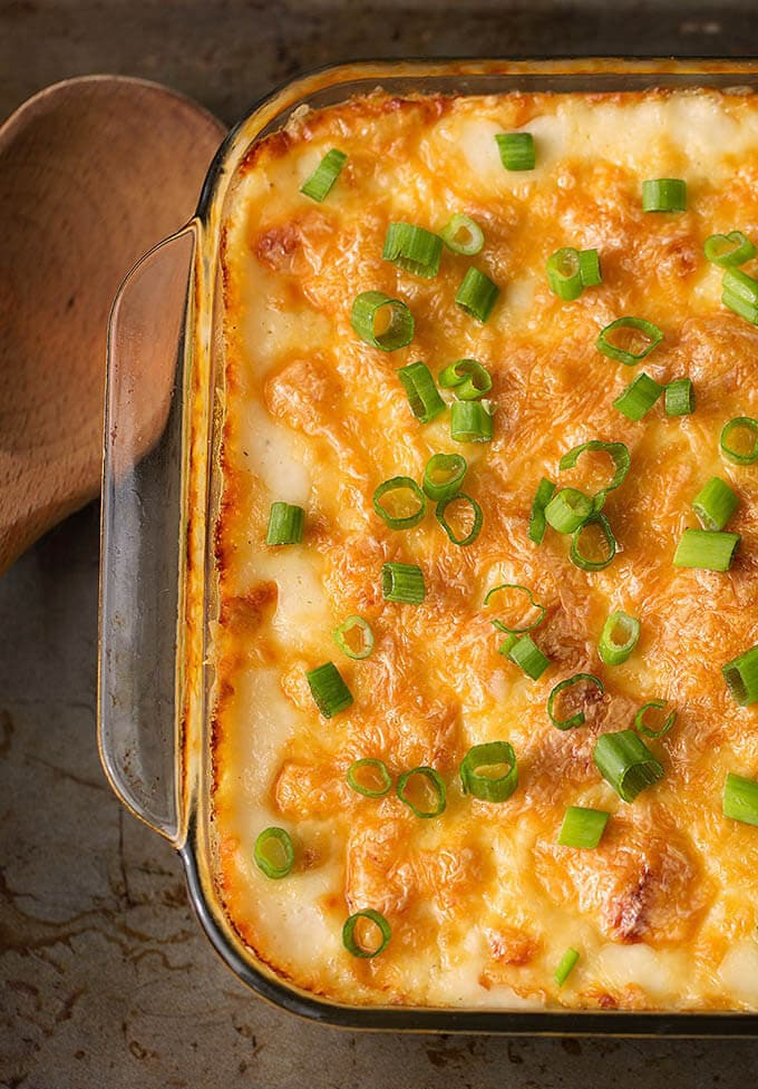 cheesy baked orzo  simply happy foodie