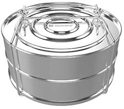 stainless steel stackable pans