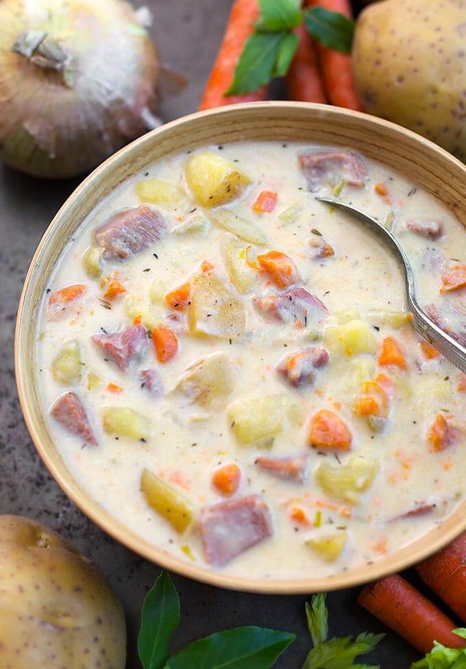 Instant Pot Potato Ham Soup Simply Happy Foodie Watermelon Wallpaper Rainbow Find Free HD for Desktop [freshlhys.tk]