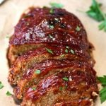 Instant Pot Turkey Meatloaf is flavorful and juicy. A tasty turkey meatloaf made in your electric pressure cooker simplyhappyfoodie.com #instantpotrecipes #instantpotmeatloaf #instantpotturkeymeatloaf