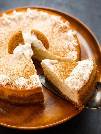 Instant Pot Eggnog Cheesecake