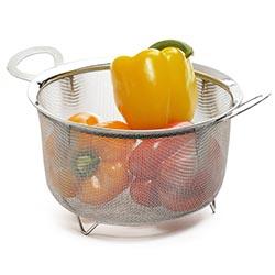 RSVP Stainless 3 Quart Mesh Basket