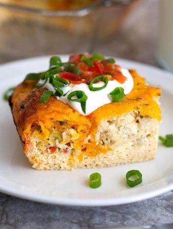 Easy Breakfast Egg Bake