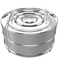 ekovana stainless steel stackable pans