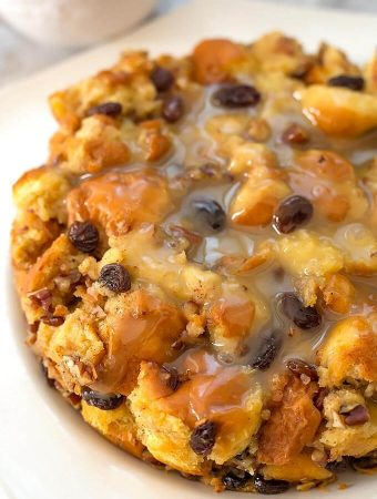 Instant Pot Bread Pudding