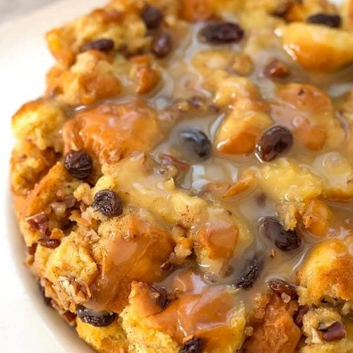 Instant Pot Bread Pudding Simply Happy Foodie