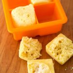 Instant Pot Mini Cornbread Squares are a smaller portion of homemade cornbread muffins made in the 3 quart electric pressure cooker, from scratch. simplyhappyfoodie.com #instantpotrecipes #instantpotcornbread #instantpotcornmuffins #instantpot3quartrecipes #instantpotmini