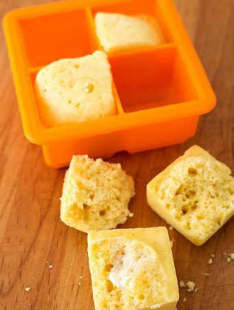 Instant Pot Mini Cornbread Squares