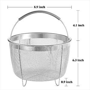 8 quart steamer basket