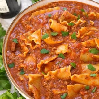 Instant Pot Easy Lasagna Soup