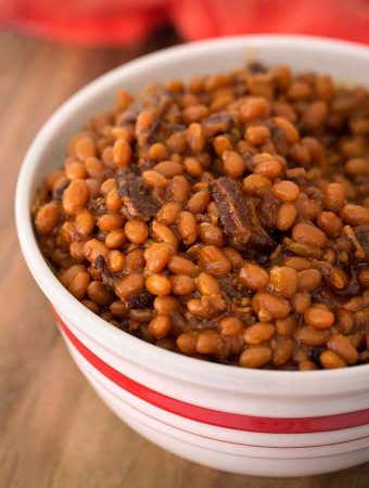 Instant Pot Smoky Sweet Baked Beans