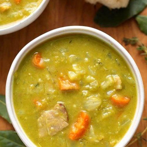 Instant Pot Split Pea Soup Simply Happy Foodie
