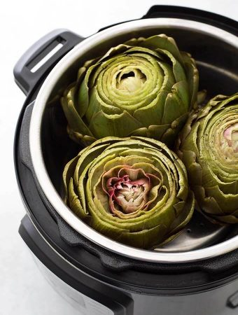 Instant Pot Whole Steamed Artichokes