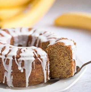 Instant Pot Banana Bread is sweet, tender, and so delicious. All you need is three ripe bananas, and you are on your way to a delicious banana bread. Pressure cooker banana bread is really easy to make and will bring memories of home. simplyhappyfoodie.com #instantpotrecipes #instantpotbananabread #pressurecookerbananabread
