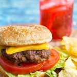 Instant Pot Hamburgers are so easy to make, and reminiscent of those famous burger chains that make steamed burger patties. These pressure cooker burger patties are simple and fast to make, and you can make a big batch at one time. simplyhappyfoodie.com #instantpotrecipes #instantpothamburgers #instantpotburgers #pressurecookerburgerpatties