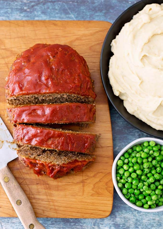 Instant Pot Meatloaf And Mashed Potatoes Simply Happy Foodie