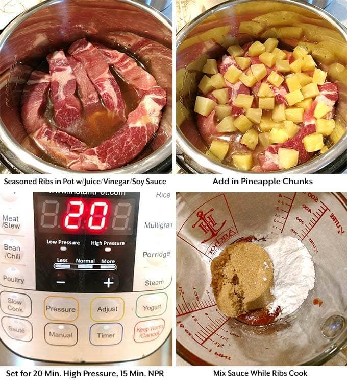 instant-pot-sweet-and-sour-country-ribs-process-1