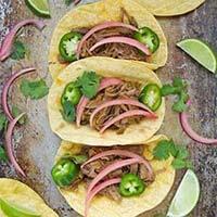 Pressure Cooker Beef Barbacoa Tacos