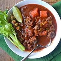 Bloody Mary Goulash