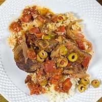 Pressure Cooker Spanish Beef