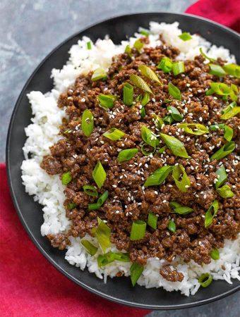 Instant Pot Korean Ground Beef – Bulgogi