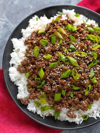 Instant Pot Korean Ground Beef – Bulgogi