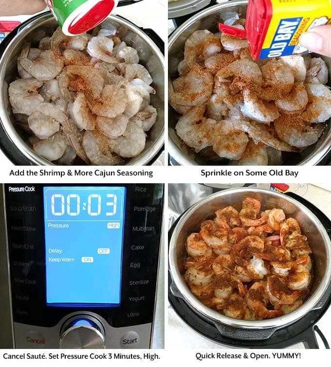 instant pot low country shrimp boil process 4