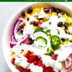 Southwest Quinoa Bowl with Cilantro Dressing