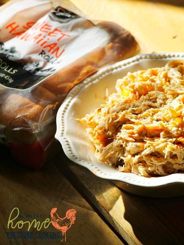 weight watchers shredded spicy mango chicken instant pot