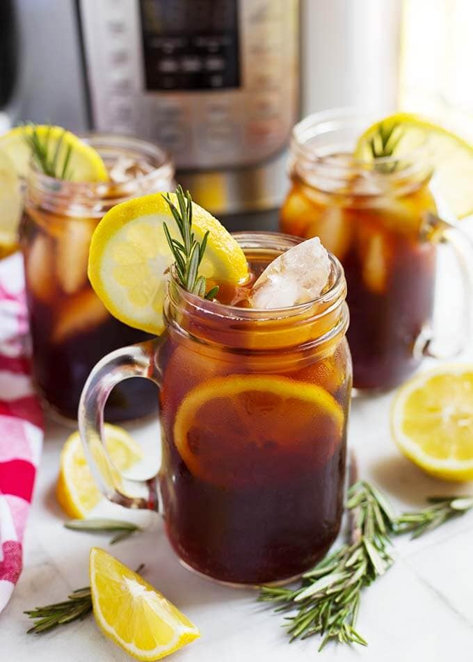 Instant Pot Iced Tea Simply Happy Foodie