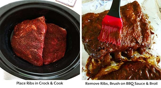 slow cooker ribs process 2