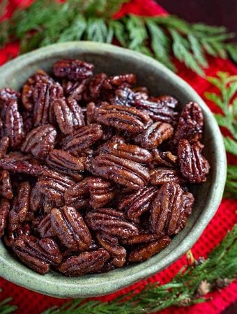 Instant Pot Maple Candied Pecans