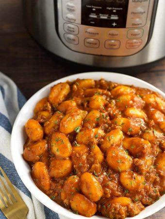Instant Pot Sausage Gnocchi
