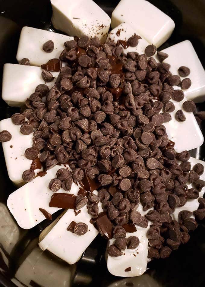 Crock Pot Chocolate Peanut Clusters Simply Happy Foodie