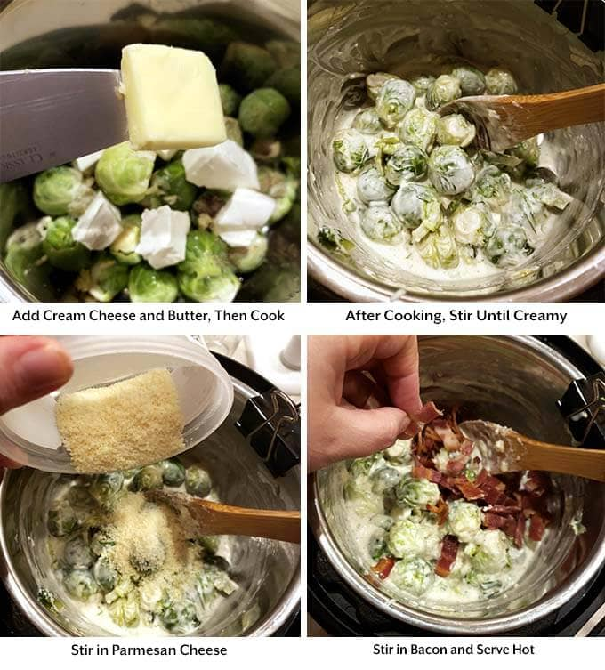 how to make brussels sprouts in the instant pot