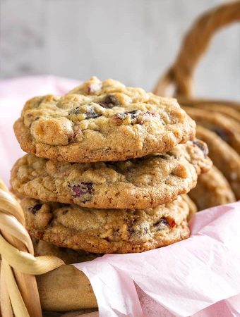 Cranberry Dark Chocolate Cookies