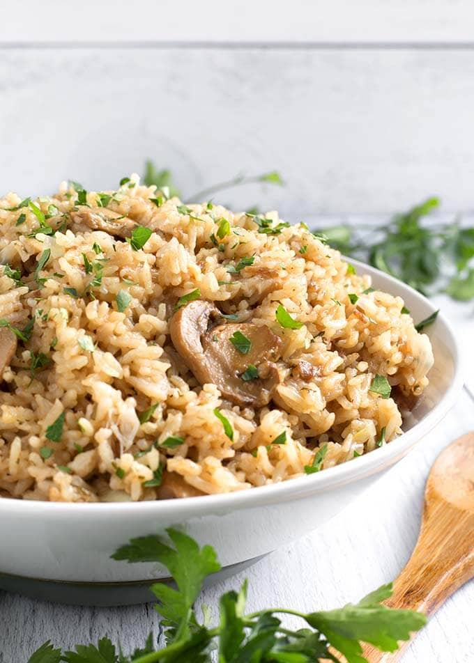 Instant Pot French Onion Rice