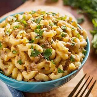 instant pot cheeseburger macaroni