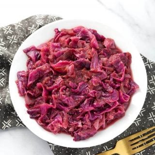 Instant Pot German Red Cabbage
