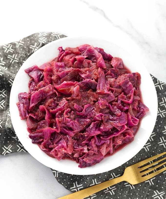 Instant Pot German Red Cabbage Simply Happy Foodie