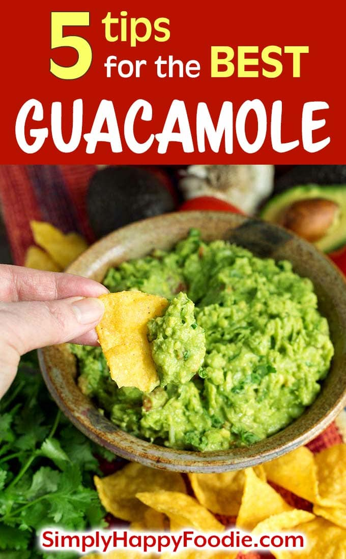 5 tips for the best Guacamole
