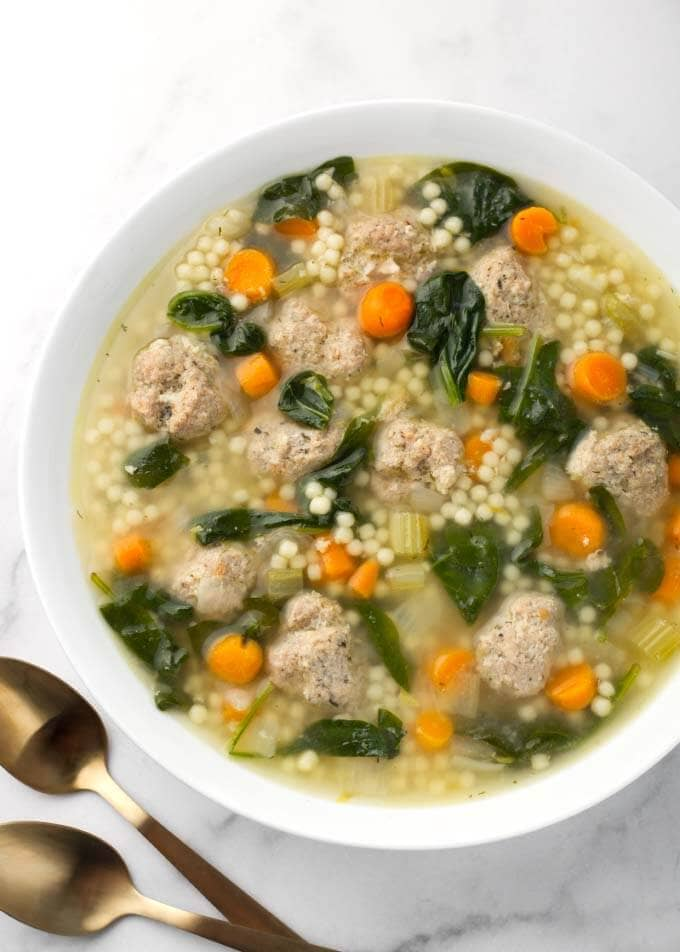 Instant Pot Italian Wedding Soup