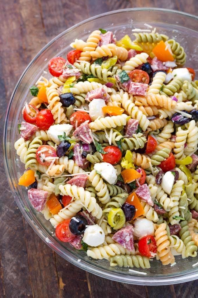Italian Pasta Salad Simply Happy Foodie