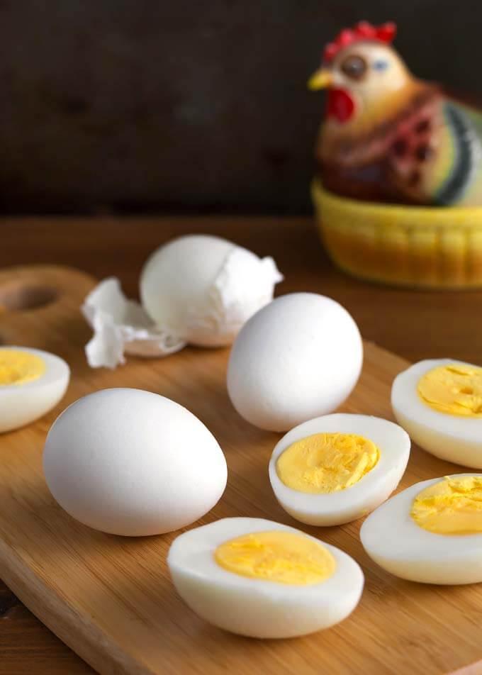 Air Fryer Boiled Eggs