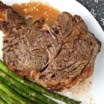 Air Fryer Rib Eye Steak